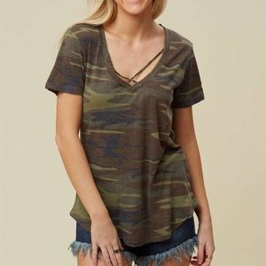 Altar'd State Favorite Fit Crossroads Tee - Camo